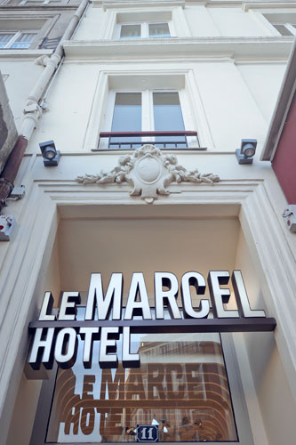Hôtel Le Marcel Paris Gare de l'Est