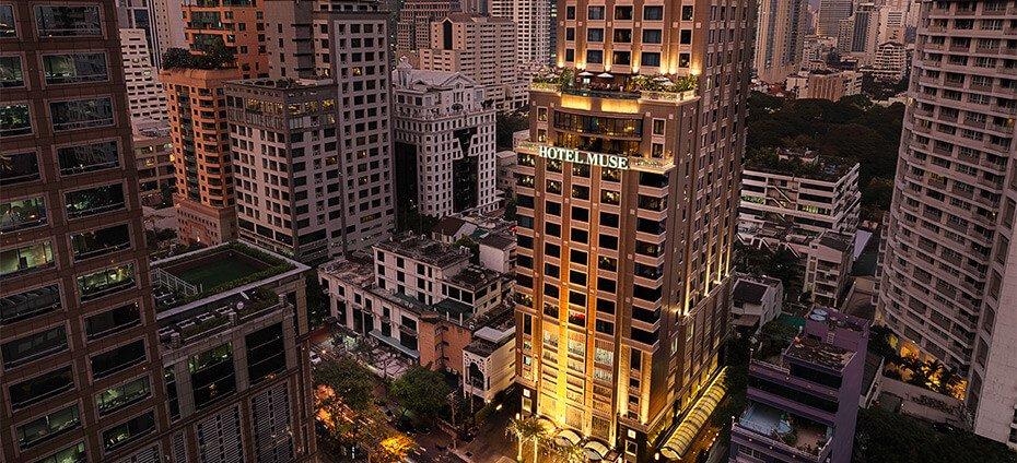 Hotel Muse Bangkok Langsuan - A Mgallery Collection